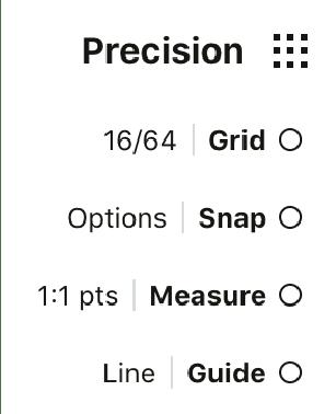 Precision Tools - Concepts for iOS Manual - Concepts App • Infinite