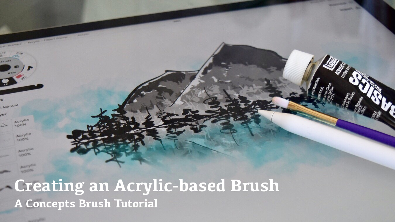 Creating an Acrylic-based Brush