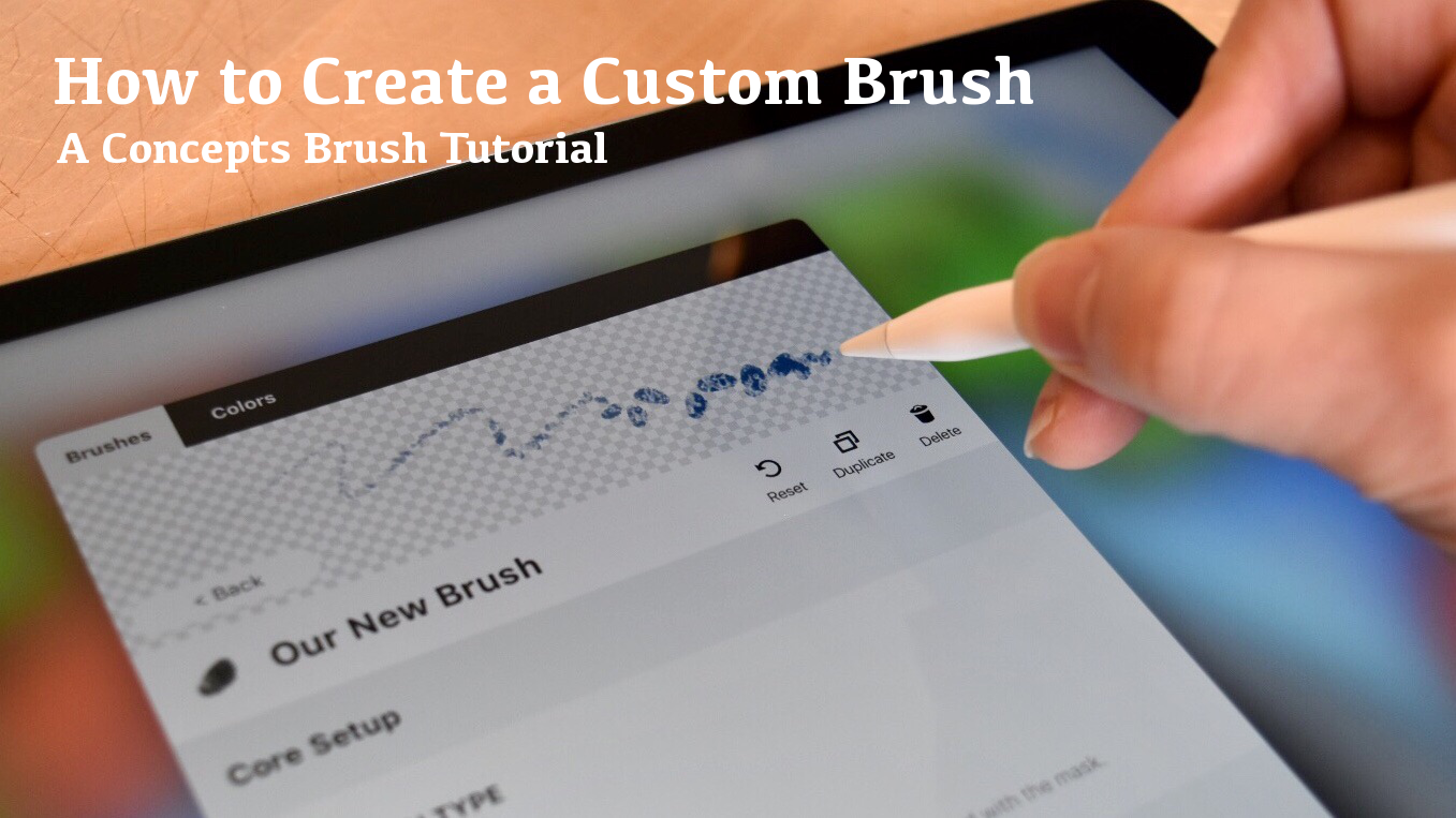 How to Create a Custom Brush tutorial