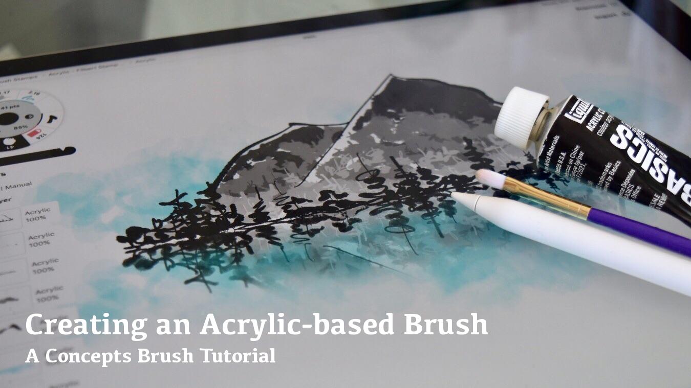 Creating an Acrylic-based Brush